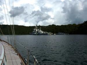 Mothball Fleet, Aulne River, France