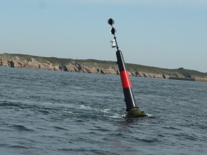 Off the Pointe du Raz. Strong current helping!